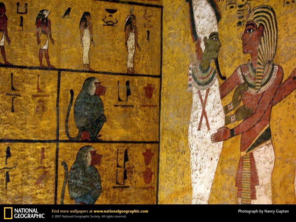 uithangbord of Tut's Tomb