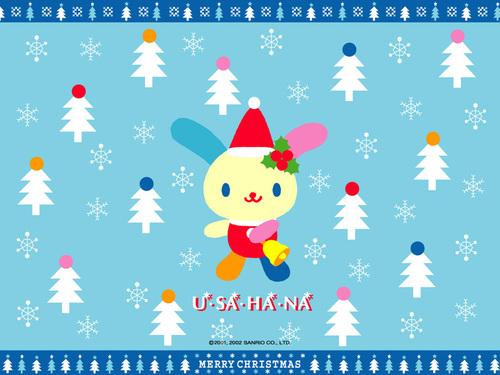 Sanrio wallpaper entitled U*SA*HA*NA