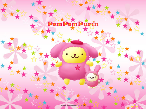 Sanrio wallpaper entitled Pom Pom Purin