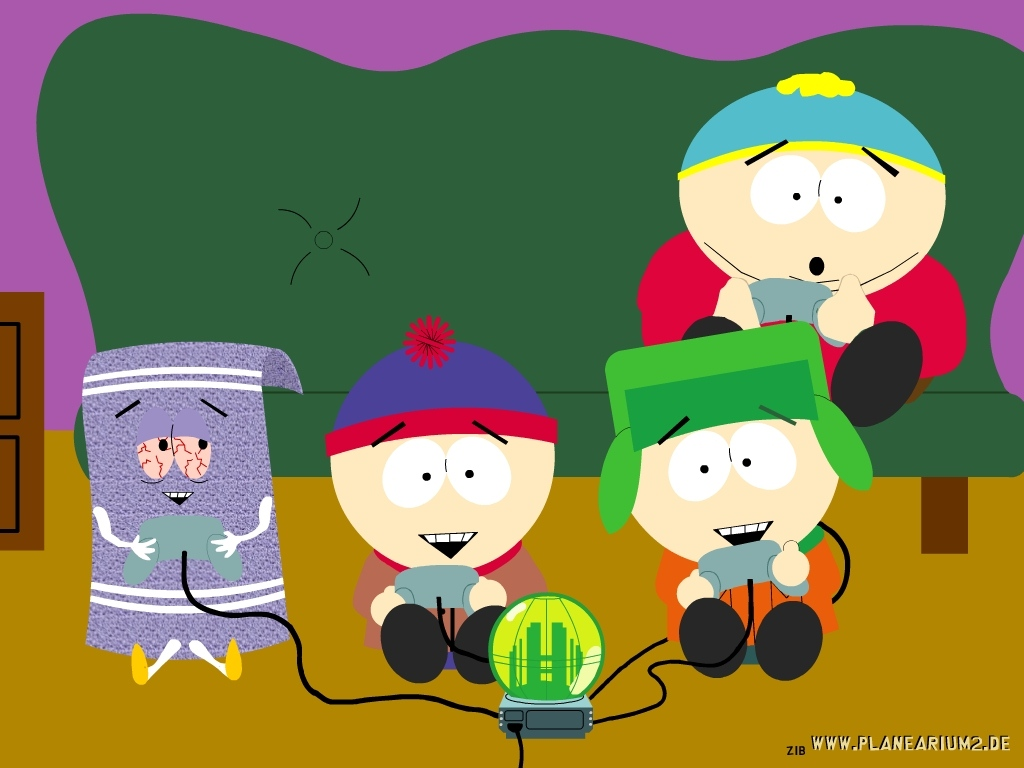 Wallpaper - South Park 1024x768 800x600
