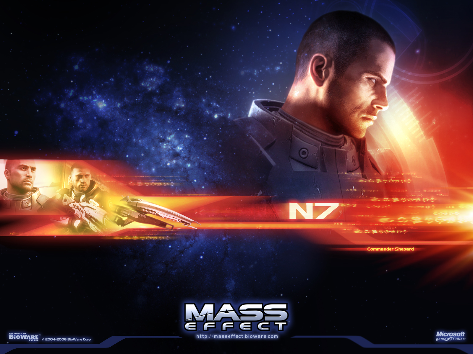 Mass Effect images Wallpapers (Shepard) HD wallpaper and background photos