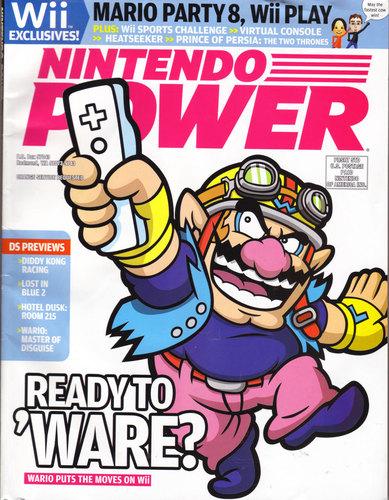 Wario magazine headline