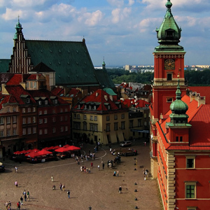 Warsaw, Poland's capital