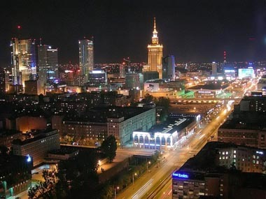 Europe wallpaper entitled Warsaw, Poland's capital