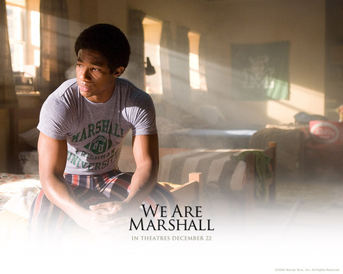 film wallpaper entitled We Are Marshall