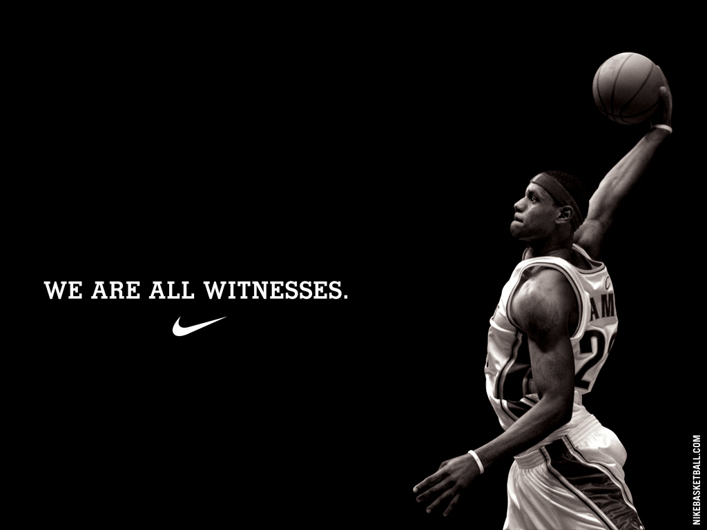 LeBron James Nike Witness