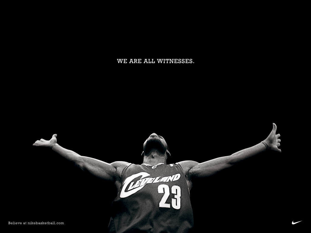 LeBron James Images We Are All Witnesses HD Wallpaper And Background Photos