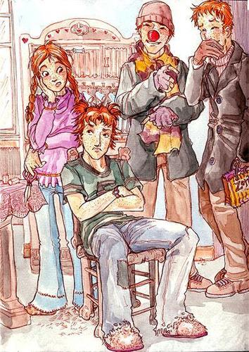 Weasleys Fan Art