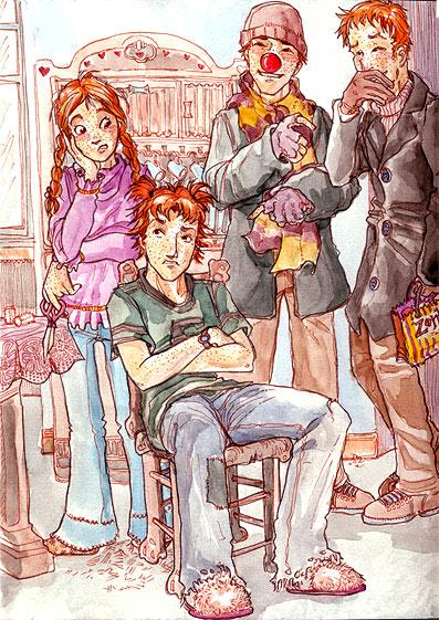 Used love ron weasley harem join her