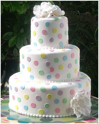 Cake Designs With Polka Dots : Polka Dot Spot images Wedding Cake wallpaper and ...