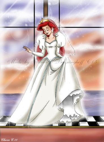 Walt ディズニー ファン Art - Princess Ariel