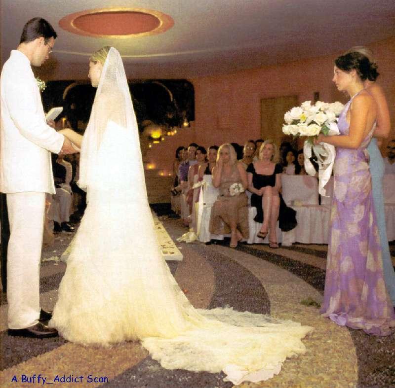 wedding sarah michelle gellar photo 341299 fanpop