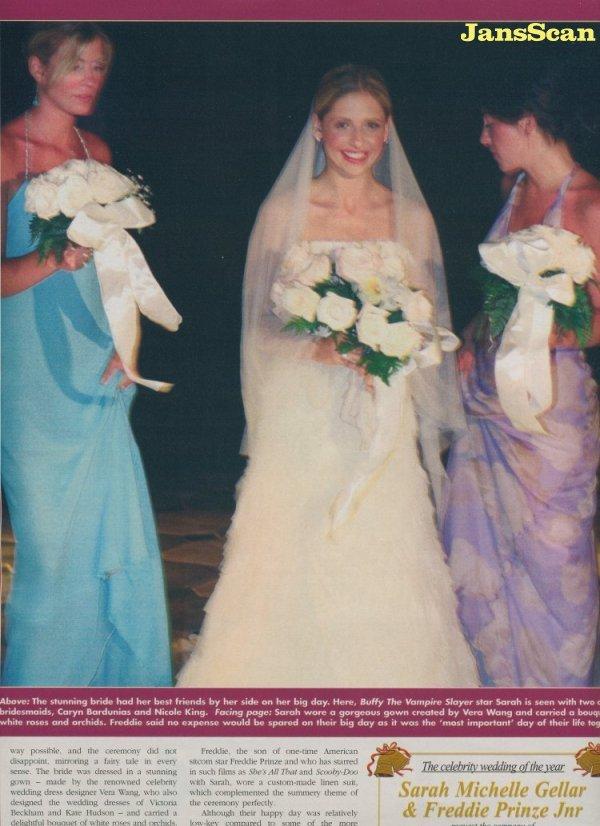 sarah michelle gellar images wedding hd wallpaper and