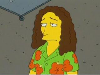 Weird Al Simpsons