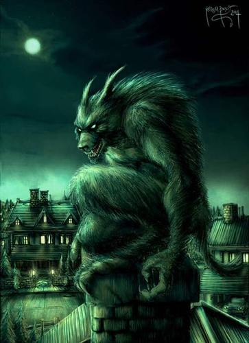 Werewolves wallpaper titled Werewolves
