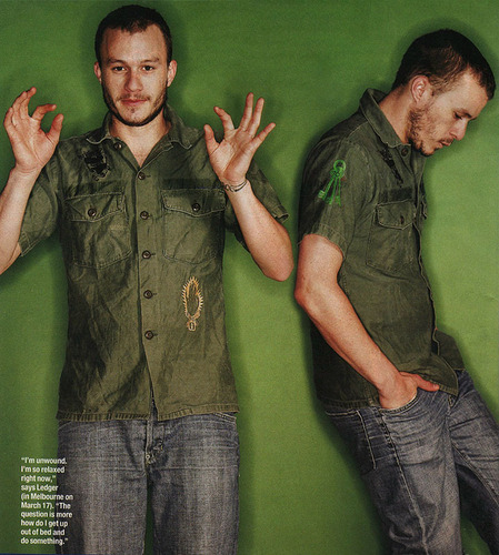 Heath Ledger images Who Magazine: 2003 HD wallpaper and background photos