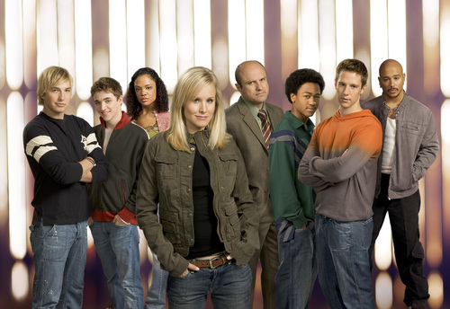 Veronica Mars achtergrond entitled Whole Cast Pictures