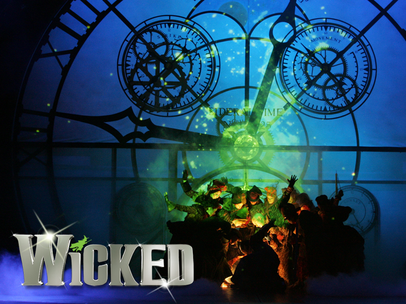 wicked the musical wicked wallpaper 257199 fanpop