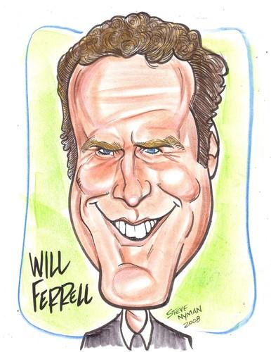 Will Ferrell Caricature