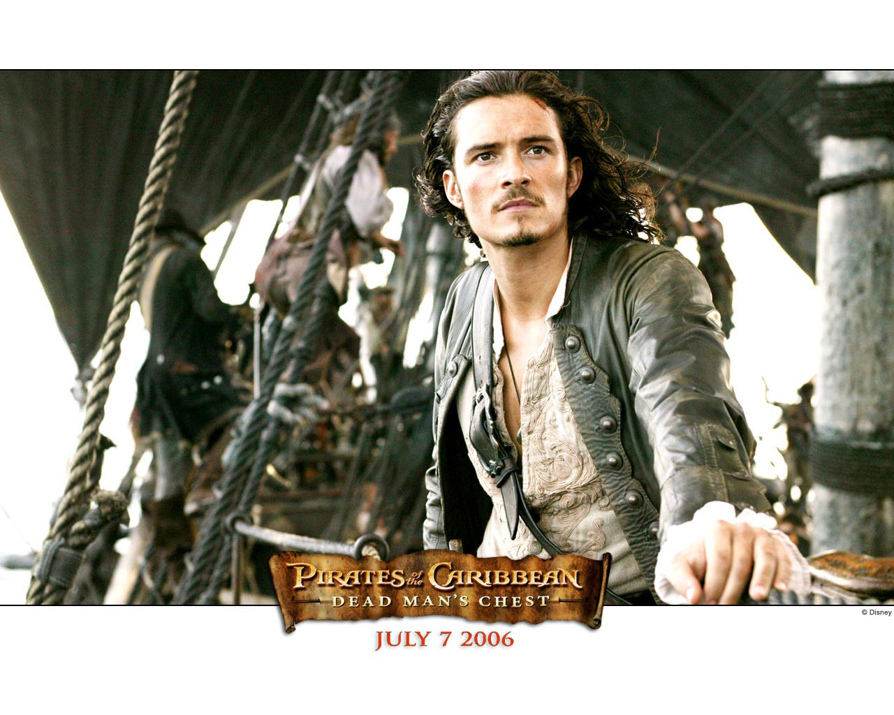 Pirates of the caribbean will turner