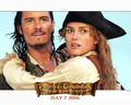 Will and Elizabeth - pirates-of-the-caribbean wallpaper