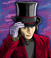 Willy Wonka - tim-burton fan art