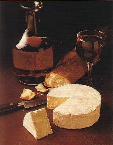 Wine Hintergrund called Wine & Cheese