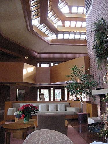 Wingspread's atrium