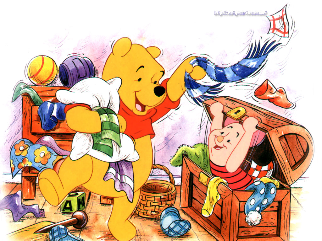 Winnie The Pooh and Friends Cartoon Disney