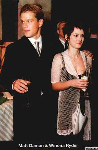 Winona & Matt Damon