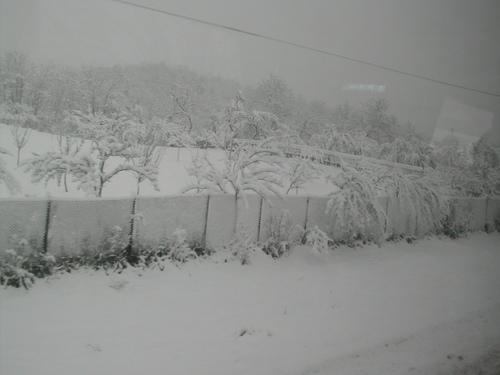 Winter in Romania