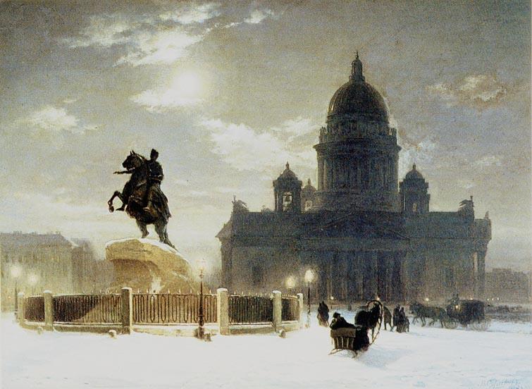 Winter in Saint Petersburg