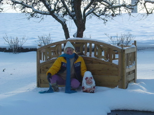 Winter in Tagarp, Sweden