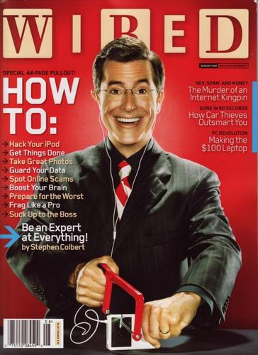 Wired Magazine Scans - the-colbert-report Photo