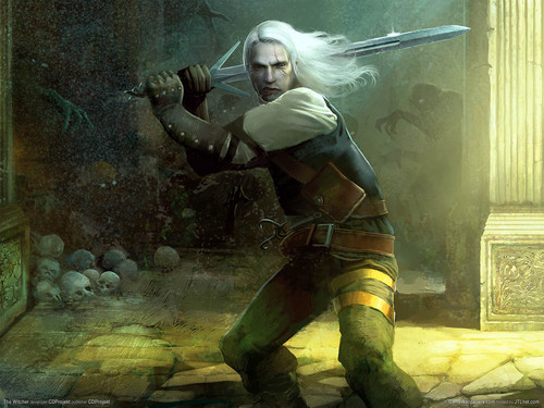 Witcher wolpeyper