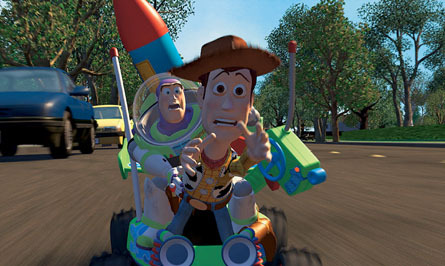 Toy Story wallpaper entitled Woody & Buzz Lightyear