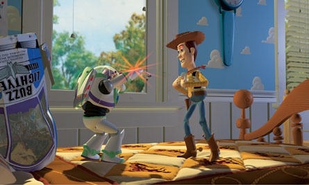 Toy Story Hintergrund titled Woody & Buzz Lightyear