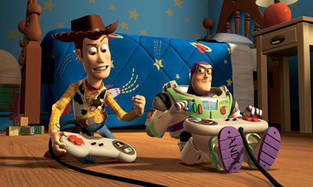 Toy Story Hintergrund entitled Woody & Buzz Lightyear