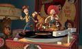Woody, Jessie & Bullseye