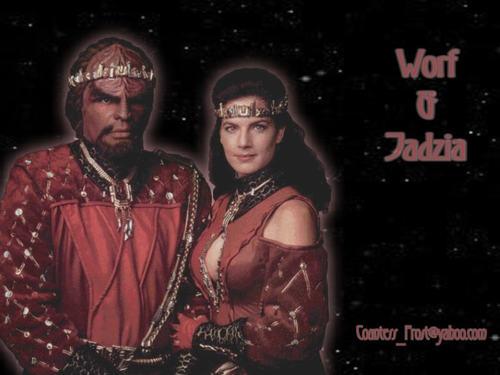 Worf & Jadzia 1