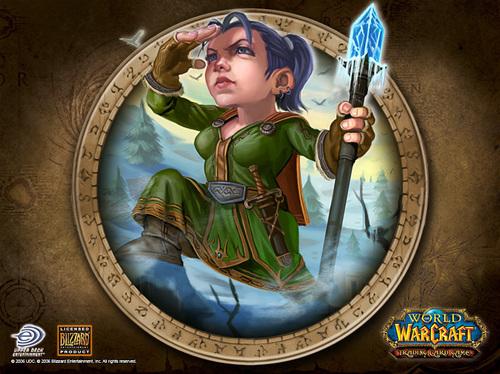 World of Warcraft karatasi la kupamba ukuta