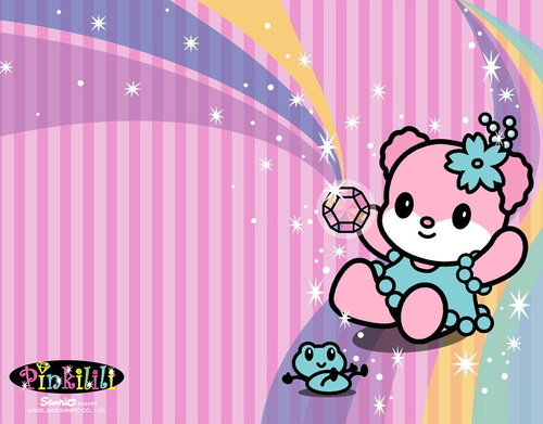 Sanrio wallpaper entitled Pink Lili