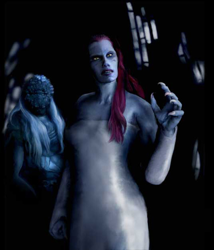 Wraith Queen - Stargate: Atlantis 427x500