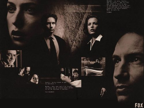 The X-Files achtergrond entitled X-Files