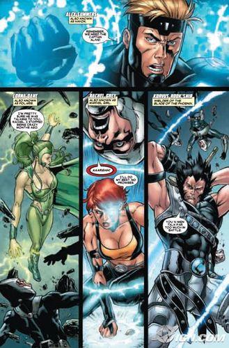 X-Men: Emperor Vulcan voorbeeld