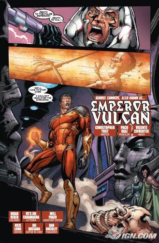 X-Men: Emperor Vulcan 预览