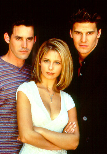 Xander, Buffy and Angel