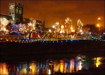 Xmas Lights In paisley