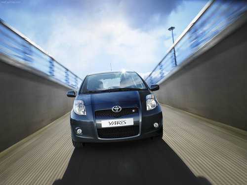 Yaris TS 2007 - toyota Wallpaper