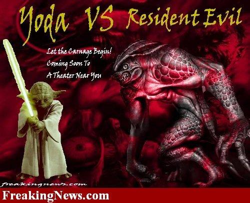 Yoda v R-Evil